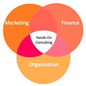 Finance4Learning | Hands-On Consulting | Crossroads of Marketing Finance and Organisation